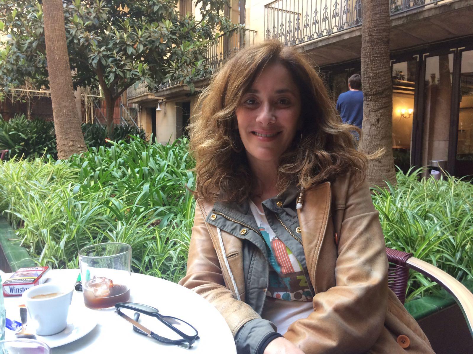 """Cristina Dilla: """"El sentiment no es crea durant el rodatge sinó després, fora del plató"""""""